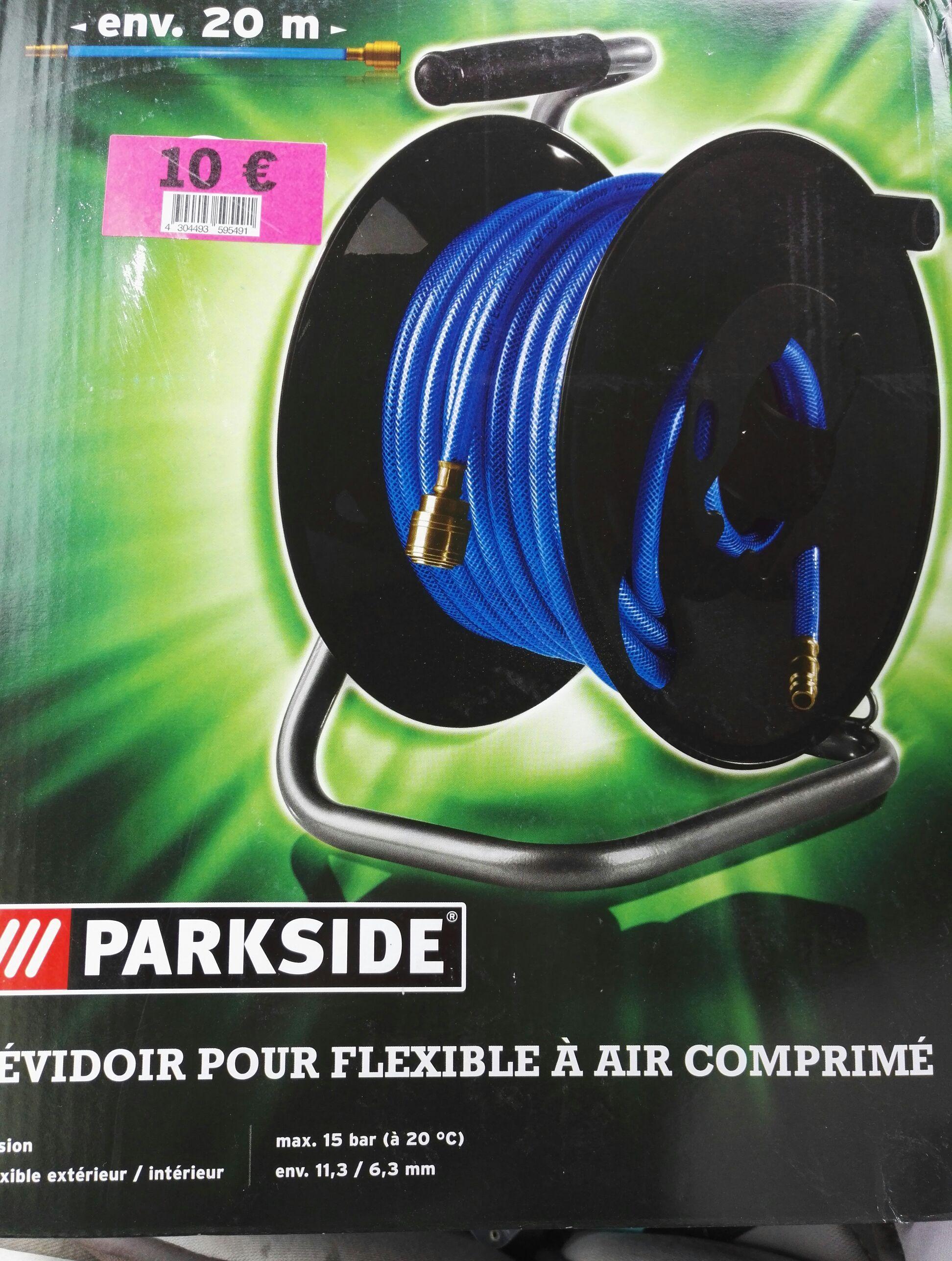 Dévidoir à air comprimé ParkSide (20 m)