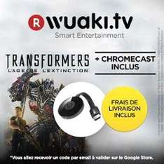 Clé HDMI Chromecast 2 + Transformers : Age of extinction
