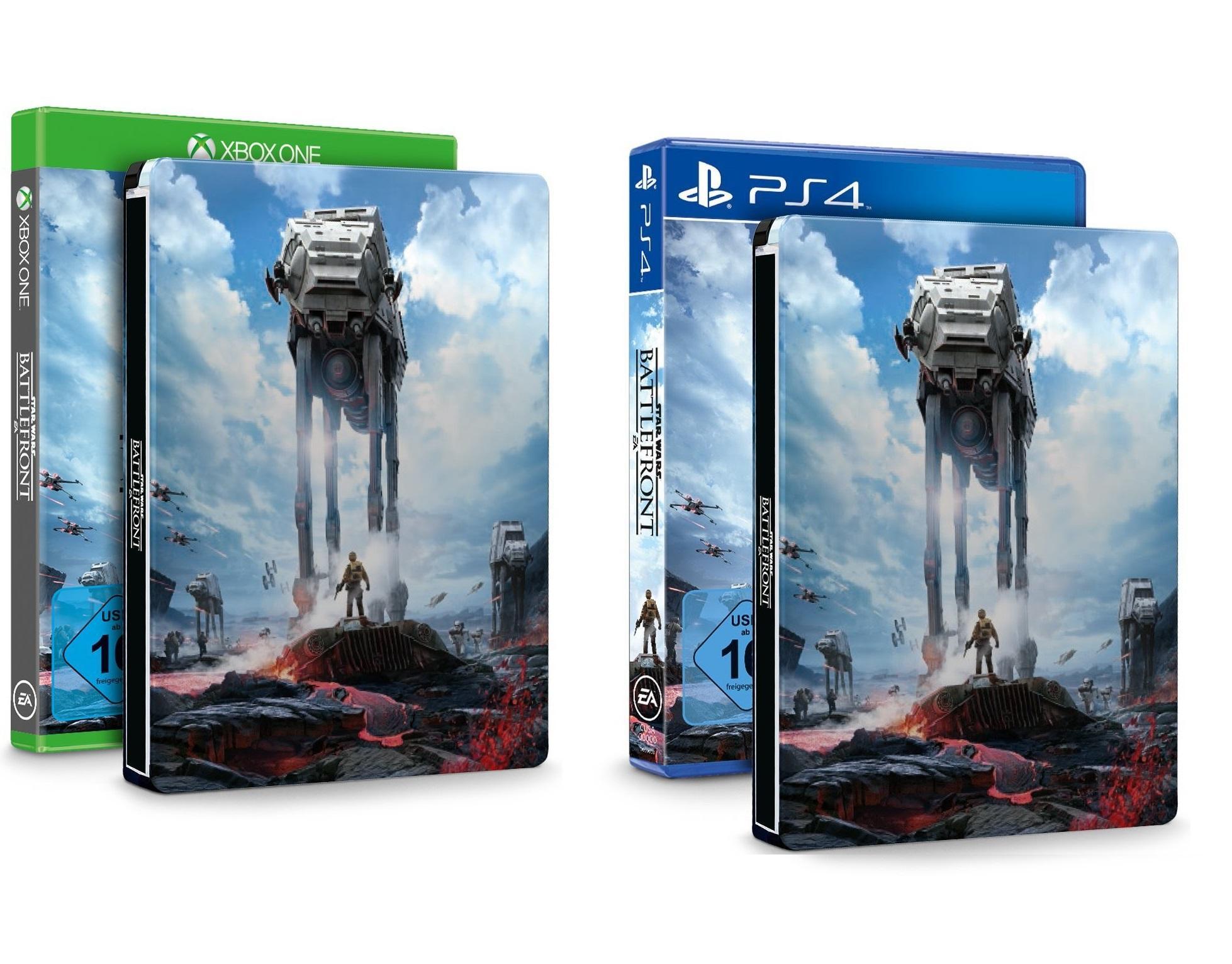 Star Wars Battlefront - Day One Edition + Steelbook sur Xbox One