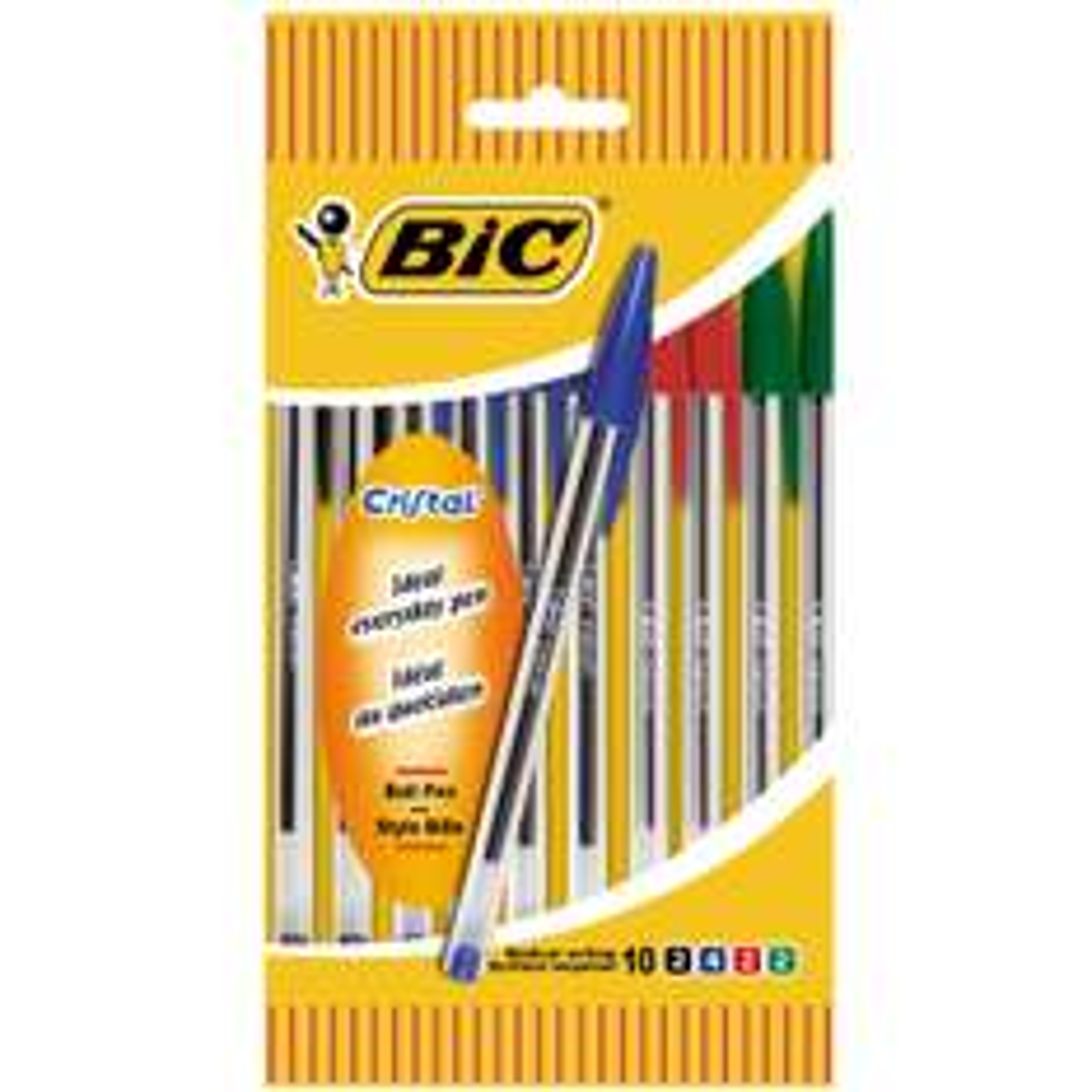 30% crédités sur la carte de fidélité sur une sélection de produits Bic - Ex : lot de 20 Bic Cristal (via 0,6€ sur la carte)