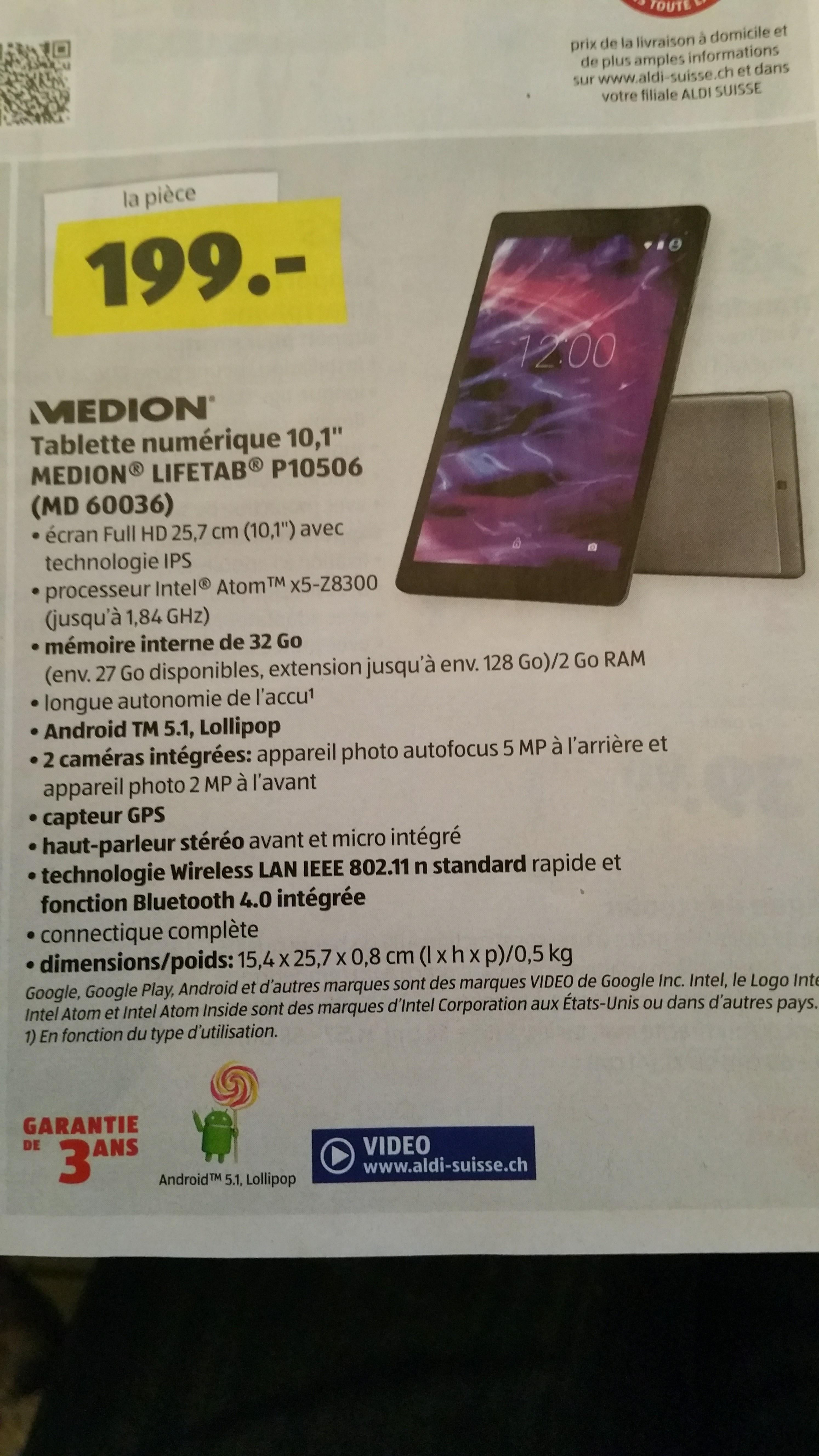 """Sélection d'articles en promotion - Ex: Tablette 10,1"""" Medion Lifetab P10506"""