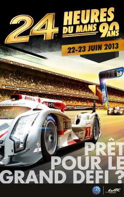 24h du Mans Auto 2013 : Pack Enceinte Générale + Tribune 12 ou 14
