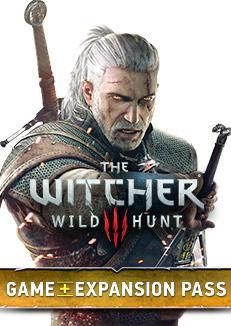 The Witcher 3: Wild Hunt + Expansion Pass (2 extensions + bonus) à 14.25€ ou The Witcher 3: Wild Hunt à 6.60€ (via VPN)