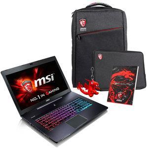 "PC portable 17.6"" GS70 6QE-084FR Stealth Pro (i7-6700HQ, 16 Go RAM, 256 Go SSD + 1 To HDD, GTX 970M, Windows 10)   + Pack Spécial Printemps"