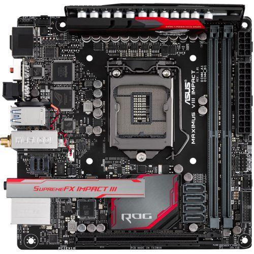 Carte mère Mini-ITX Asus Maximus VIII Impact + Doom offert sur PC