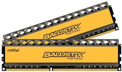 Kit de RAM Crucial Ballistix Tactical DDR3 PC3-12800 CL8 - 16 Go (2x8)