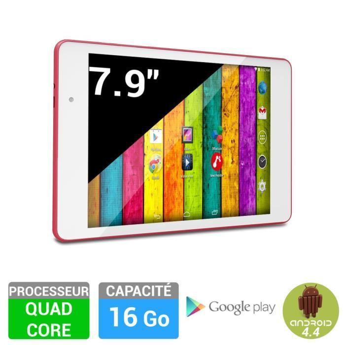 """Tablette 7.9"""" Archos 79c 16Go - Neon rose, Reconditionnée + 25€ en bon d'achat"""