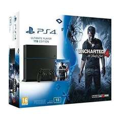 Pack PS4 1 To + Uncharted 4 + 2 Manettes
