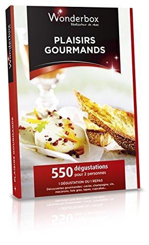 Coffret cadeau Wonderbox - Plaisirs gourmands