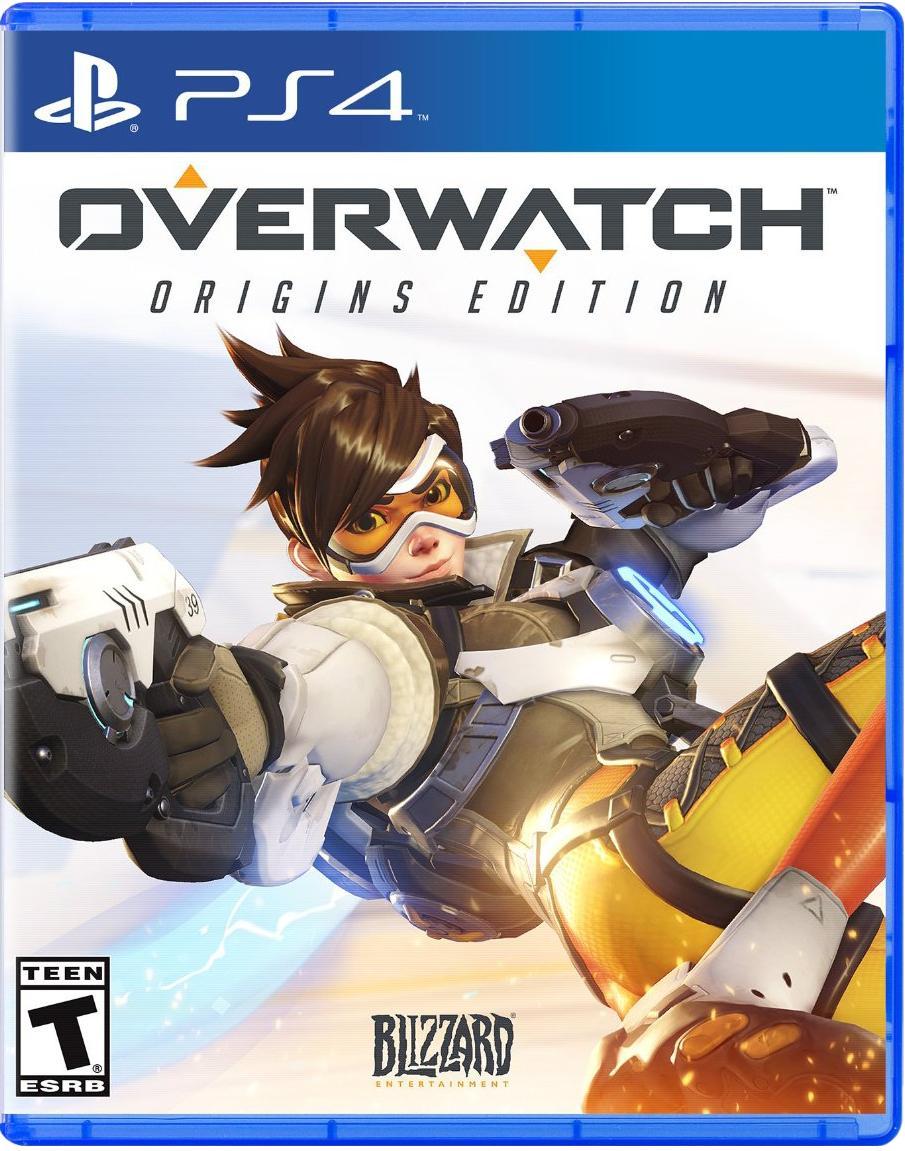 Overwatch sur PS4 ou Xbox One en rapportant un vieux jeu