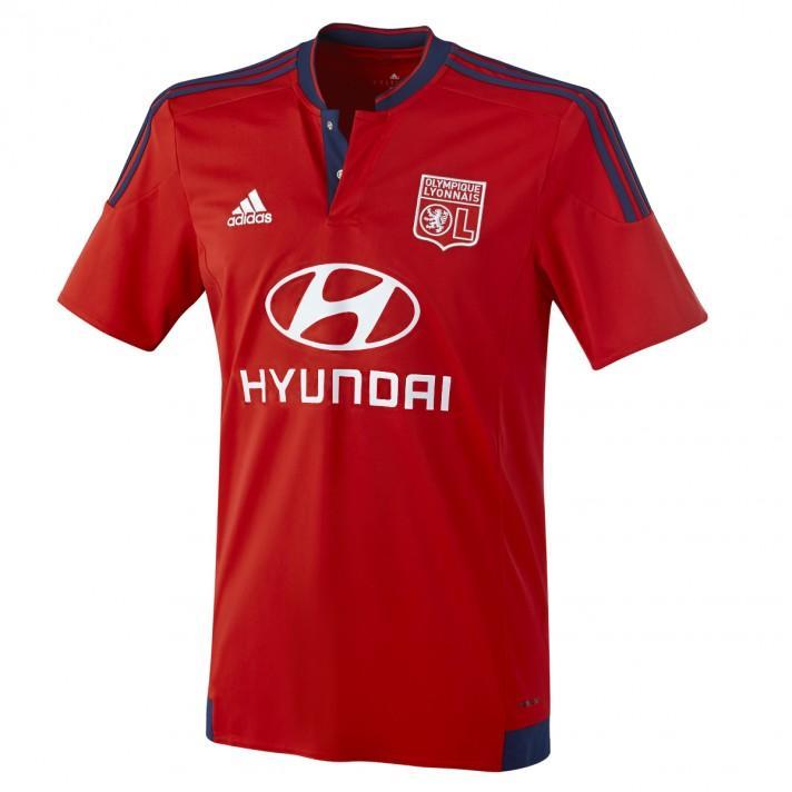 Sélection d'articles de l'Olympique Lyonnais en promotion - Ex : maillot extérieur 15/16 (adulte)