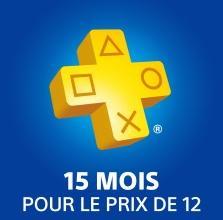 [Nouveaux abonnés] 15 Mois d'abonnement au PlayStation Plus
