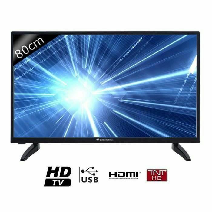 "TV 32"" Continental Edison 320516B3 - LED, HD, 80cm"