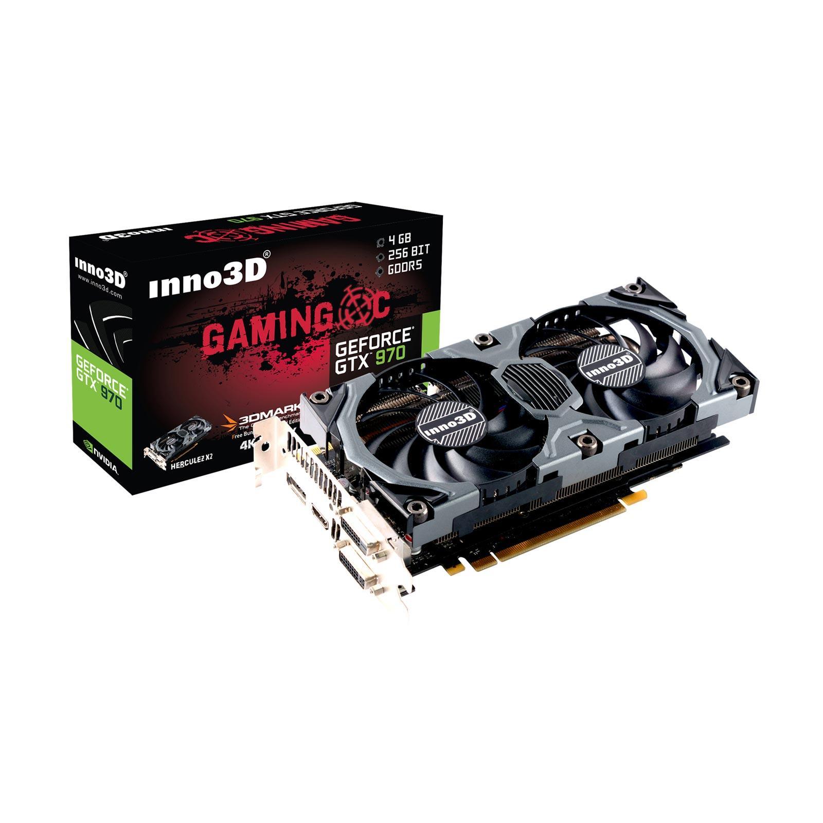 Carte graphique Inno3D GeForce GTX 970 OC GDDR5 - 4 Go
