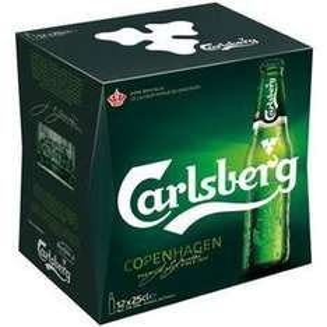 Lot de 2 Packs de 12 Bières 25 cL Carlsberg