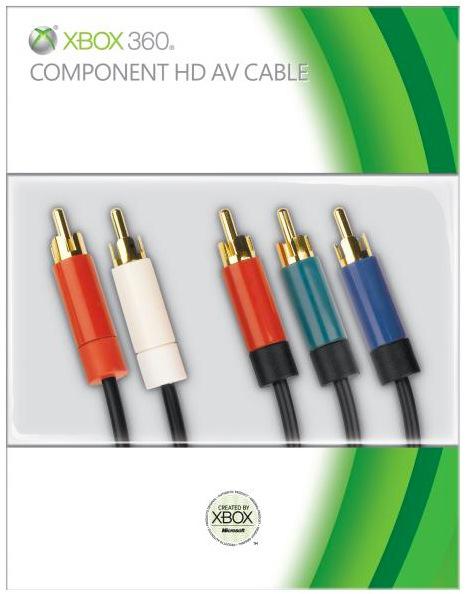 Câble vidéo High Definition Component AV XBOX 360