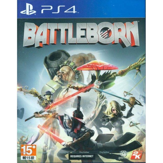 Battleborn sur PS4 (édition asiatique)