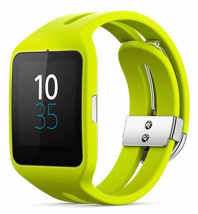 Montre connectée Sony Smartwatch 3 Sport - Jaune