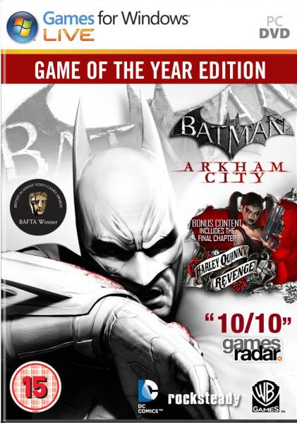 Batman Arkham City: Game of the Year PC (Dématérialisé)