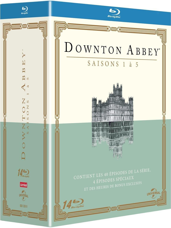 Coffret Blu-ray : Downton Abbey (5 saisons)