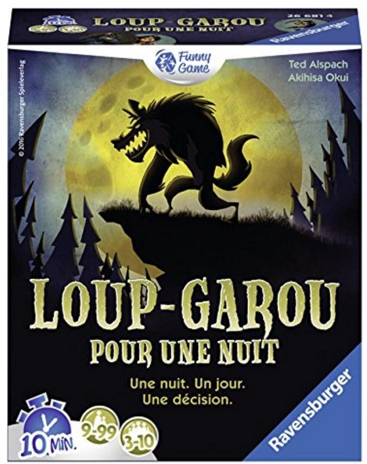 Sélection de jeux Ravensburger 50% remboursé via ODR - Ex : Jeu Loup garou pour une nuit (via ODR de 4.43€)