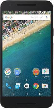 """Smartphone 5.2"""" LG Nexus 5X - 16 Go, noir + coque Spigen + film protecteur"""
