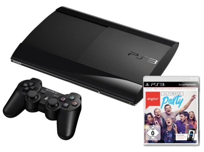 Sélection de packs et de jeux PS3 en promotion - Ex : Console Sony PS3 12 Go + Singstar