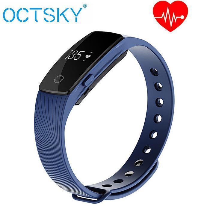 Bracelet fitness connecté  Octsky ID107 via l'application