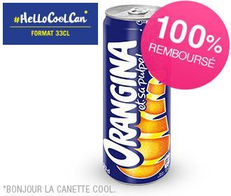 Canette Orangina Cool Can 33cl gratuite chez Paul, Pomme de Pain, Flunch, Pizza Hut & Brioche Dorée