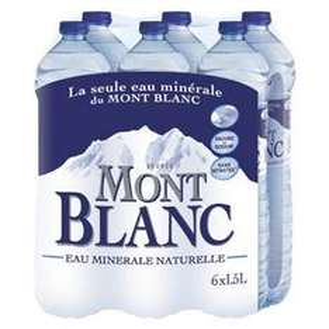 2 packs d'eau Mont Blanc (via Shopmium + bdr + 3,30€ sur la carte)