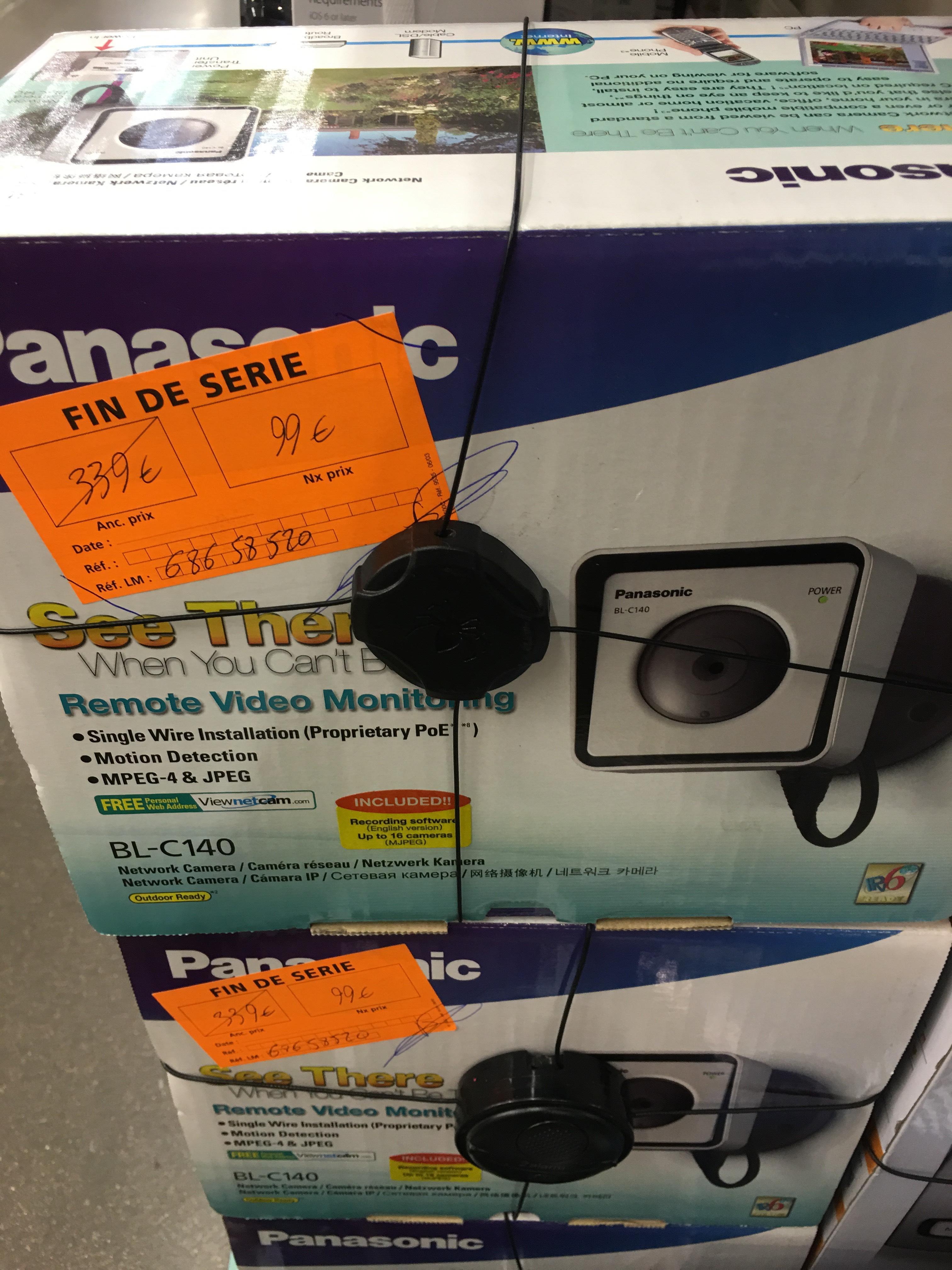 caméra extérieure Panasonic BL-C140