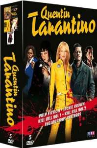 Coffret DVD Quentin Tarantino : Pulp Fiction - Jackie Brown - Kill Bill 1&2 - Inglorious Basterds