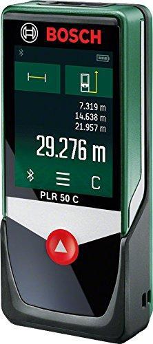 Télémètre Laser Connecté  Bosch PLR 50C - Portée 50m (via ODR 40€)