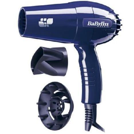 Seche cheveux  Babyliss  AU001E Bleu 2200W 2 Vitesses 2 Températures