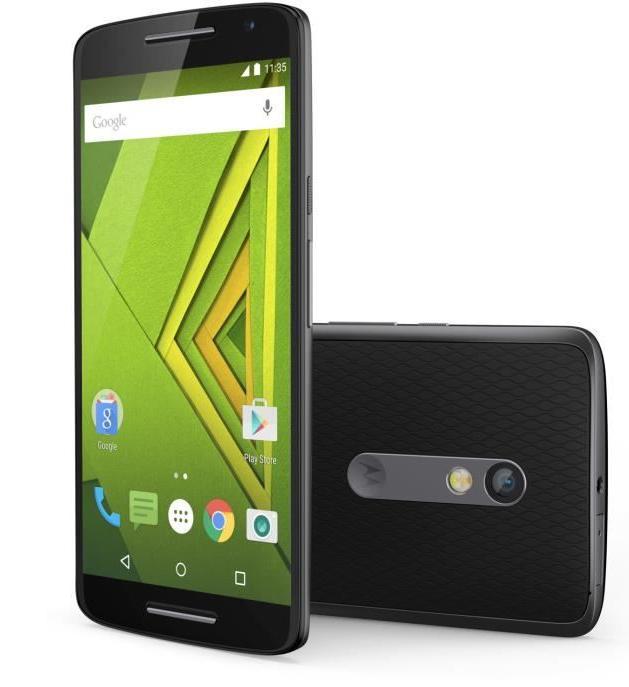 "Smartphone 5.5"" Motorola Moto X Play Noir - Full HD, Snapdragon 615 1.7Ghz, RAM 2 Go, ROM 16 Go, Android 6 (via ODR 50€)"