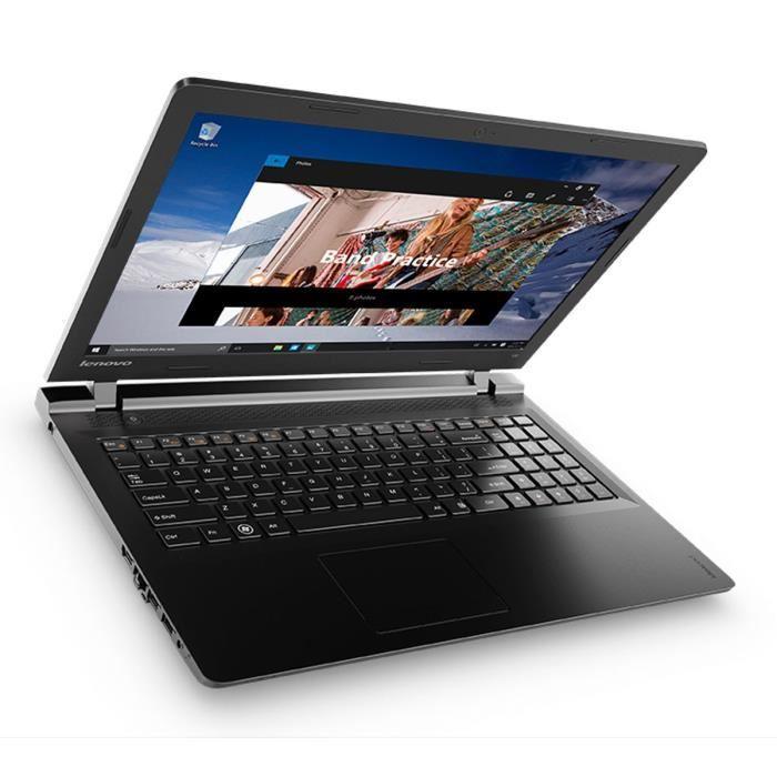 "PC portable 15.6 "" Lenovo Ideapad 100-15IBD (i3-5005U, 920M, 4 Go de RAM, 128 Go en SSD) + 80€ en bon d'achat"