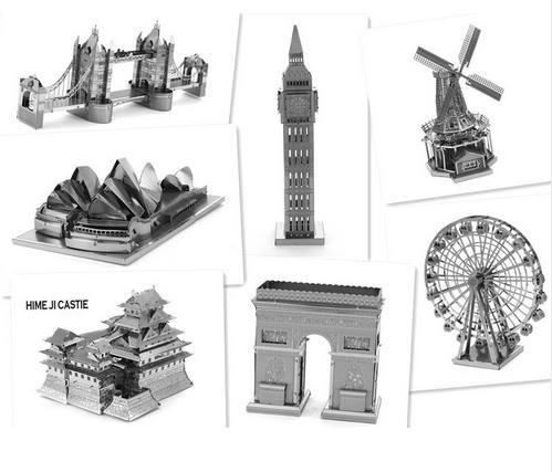 Jusqu'à 50% de réduction immédiate sur une sélection de Nano Puzzles 3D en métal - Ex: Tour Eiffel