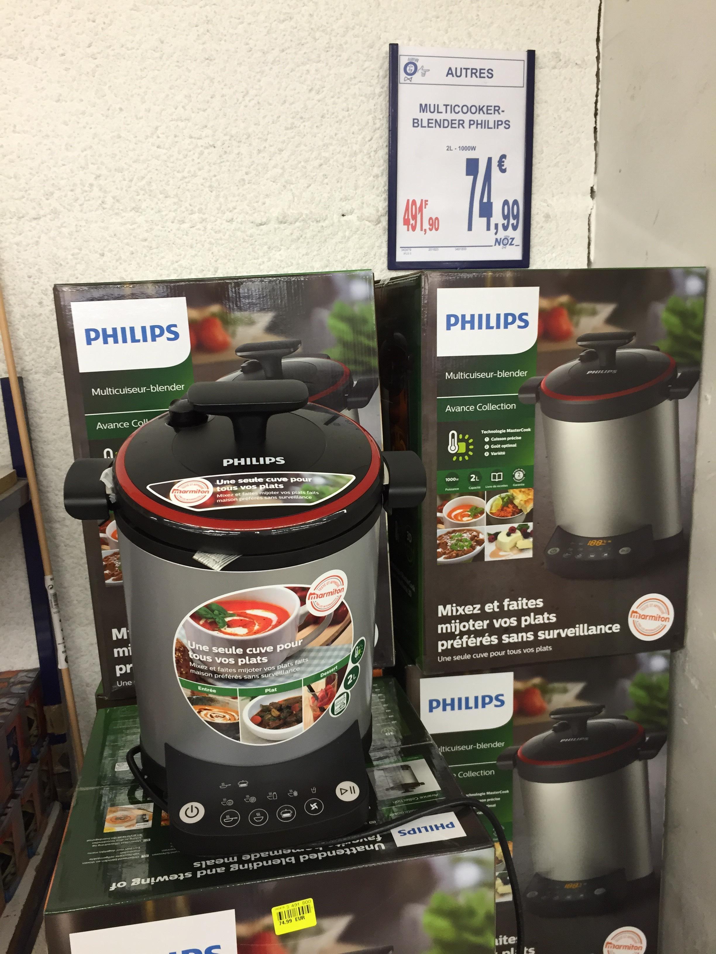 Multicuiseur Blender Philips HR2205/HR2206 (via ODR de 40€)