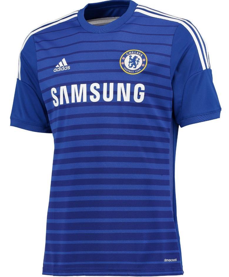 Maillot Football Adidas Chelsea Domicile 2014/2015 Bleu