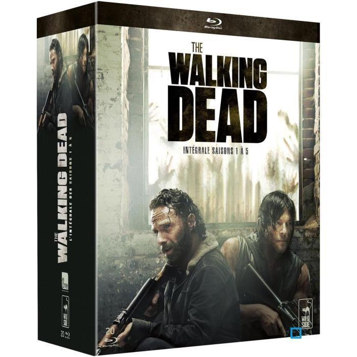 Coffret Blu-ray - The Walking Dead (Saisons 1 à 5)
