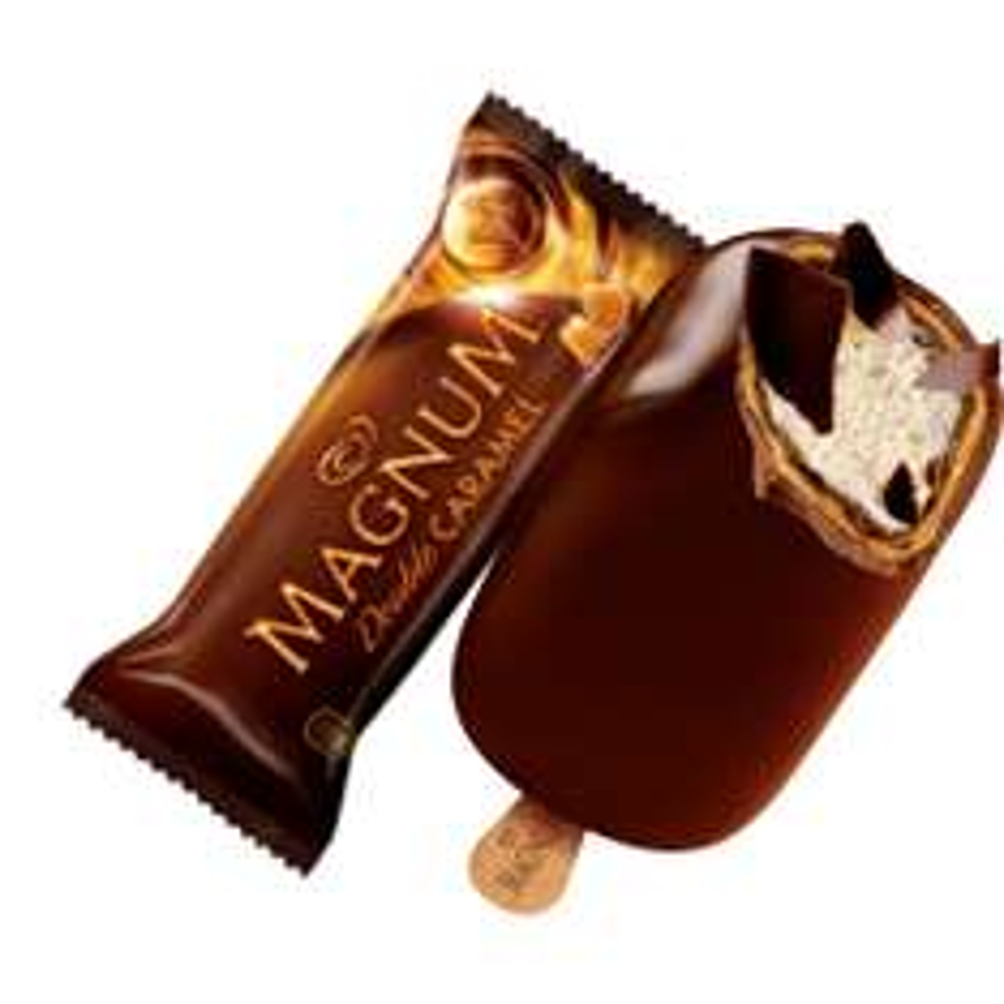 [Sur présentation] Une glace Magnum Double Caramel offerte
