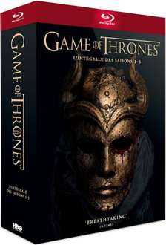 Coffret Blu-ray Game of Thrones (Saisons 1 à 5)