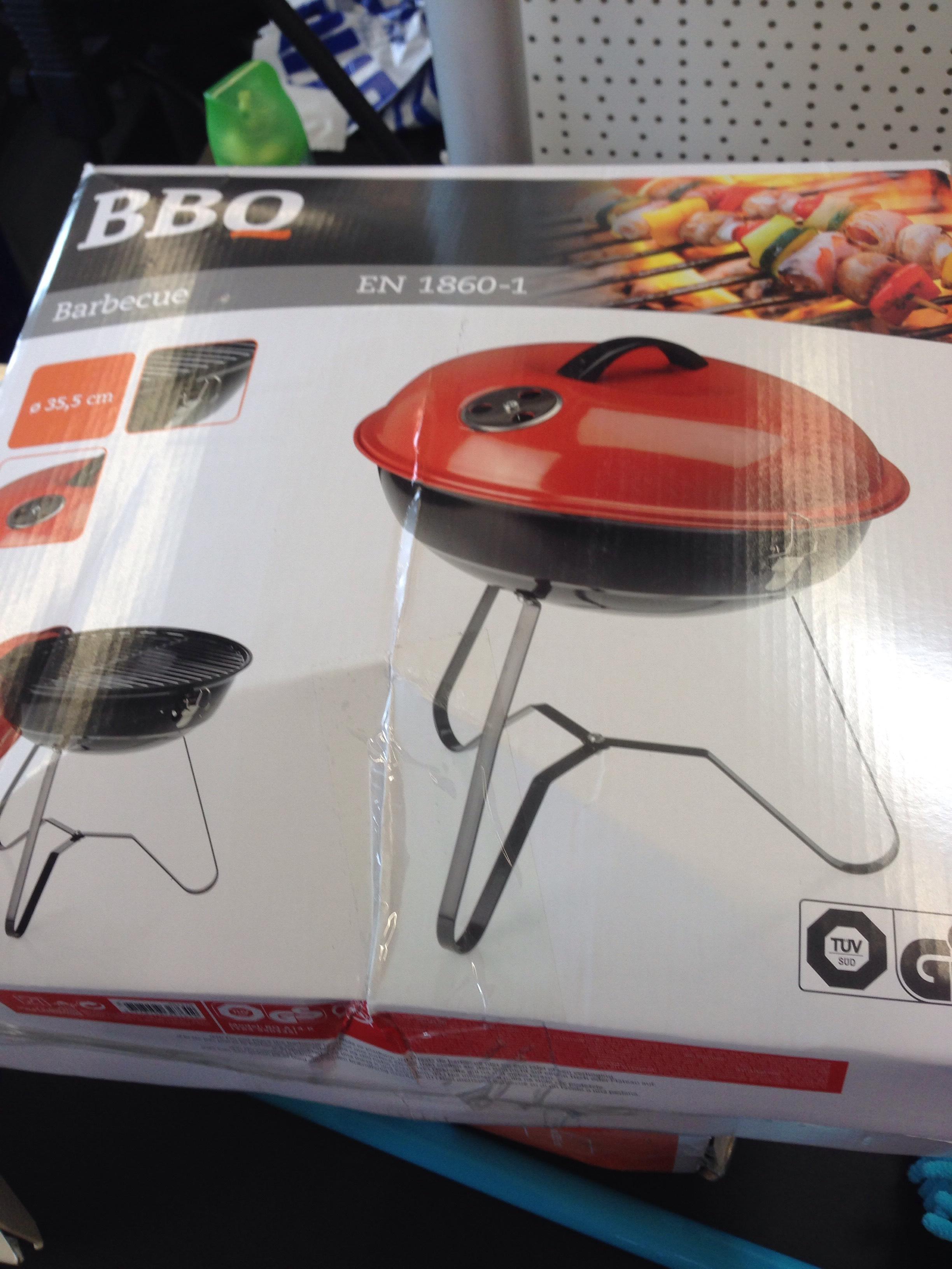 Barbecue BBQ EN 1860-1 (35.5cm)