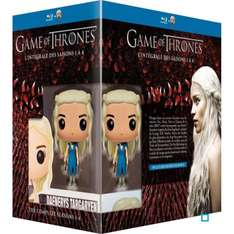 Coffret Blu-Ray Game Of Thrones Saisons 1 à 4 + Figurine Funko de Daenerys