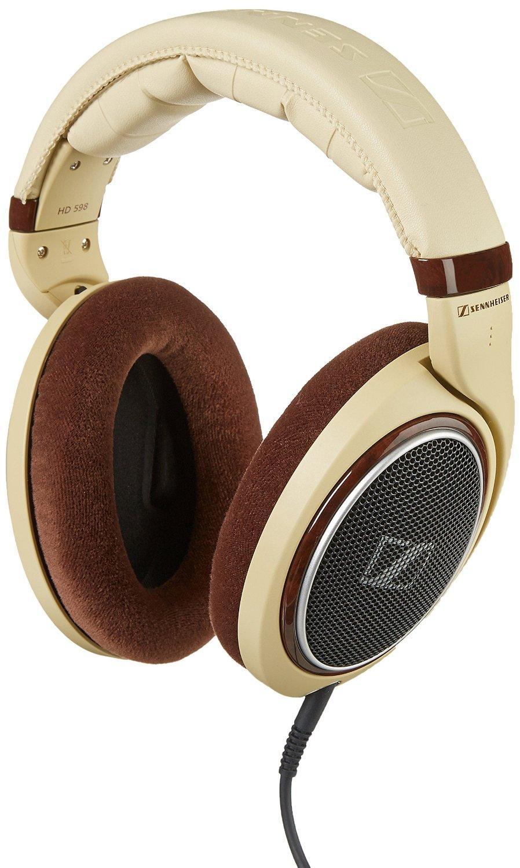 Sélection de produits Sennheiser - Ex : Casque audiophile circum-aural Hi-Fi HD 598 - E.A.R, Beige