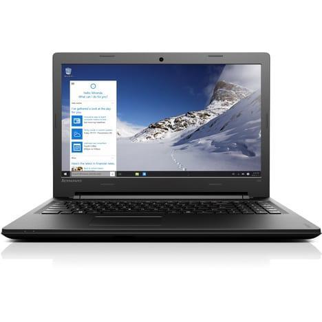"PC Portable 15.6"" Lenovo Ideapad 100-15Ibd - Intel i3-5005U, 4 Go de Ram, 500 Go"