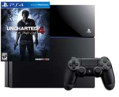 Pack Console Sony PS4 1 To + Uncharted 4: A Thief's End