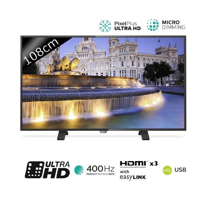 "TV 43"" Philips 43PUH4900 - LED, 4K"