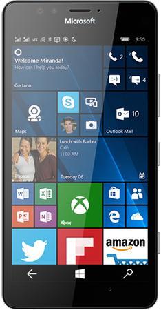 "Smartphone 5.2"" Microsoft Lumia 950 Noir 32Go double sim"