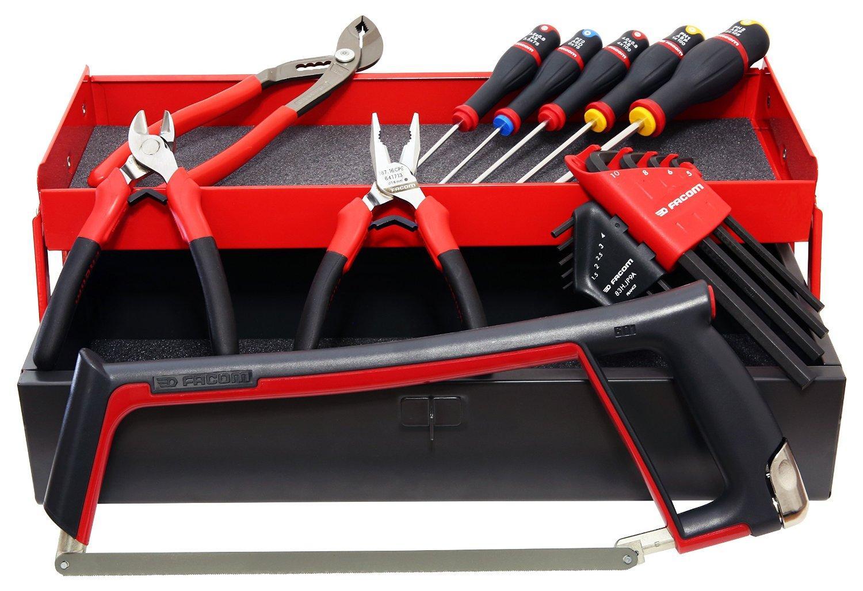 Boîtes à outils en métal Facom BT.6AFRPG + 18 Outils